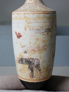 Oil Jug (lekythos), Cantor Arts Center collection